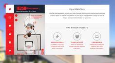 Website creation for MJC /Frontpage Part/ - 2014 - France - www.mjcrodez.fr