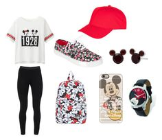 """♥ Disney ♥ Edition"" by httpemmy on Polyvore featuring Uniqlo, Peace of Cloth, Casetify, Disney and Topshop"