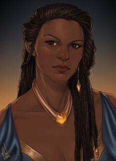Nehemia, Throne of glass