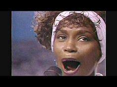 Whitney Houston: Legendary performance of Star Spangled Banner