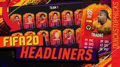 Fifa 20 Headliners Are Here Team 1 I Free 100k Pack I Adama Traore Sbc I Plea Headliner Objective In 2020 Fifa 20 Fifa Headlines