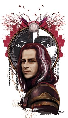 ADOBE ILLUSTRATOR CC - VECTOR Character: Jaqen H'ghar Serie: game of Thrones Digital art made by me