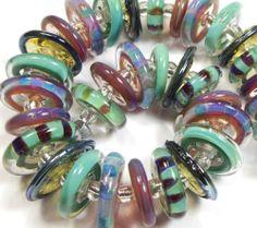 Quinlan Glass Wonderland Boro Handmade Lampwork Glass Beads