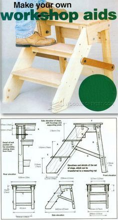 DIY Step Platform - Workshop Solutions Projects, Tips and Tricks | WoodArchivist.com