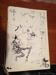 Tinta Salvador Dalí en todocoleccion