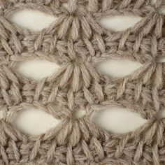 My Tunisian Crochet: Tunisian Scallop Lace Pattern