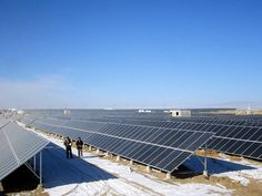 50MWp Solar Farm Location: Gonghe county, Qinghai Province, China Completion time: December, 2013