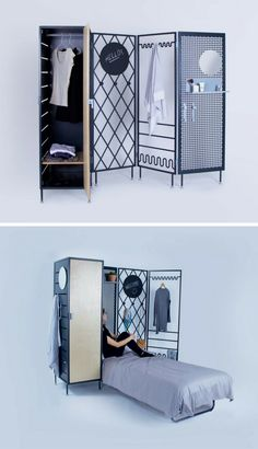 Multifunctional Patchwork Furniture Series Helps Solve Cohabitation Issues
