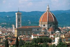 """Florence, Italy - Commonly called the """"Duomo"""" (Cathedral), this landmark's real name is Santa Maria del Fiore (Saint Mary of the Flower)"""