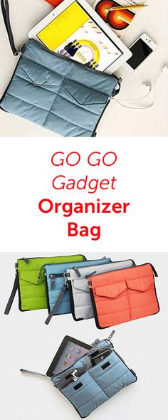 GO GO Gadget Organizer Bag in 5 Colors