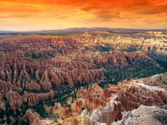 Bryce Canyon, Utah at Sunset Amazing Photography