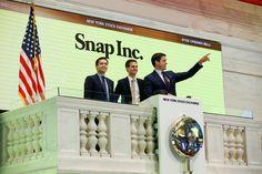 Papéis da empresa dona do aplicativo Snapchat fecharam o dia cotados a US$ 24,48, contra preço inicial fixado de US$ 17.