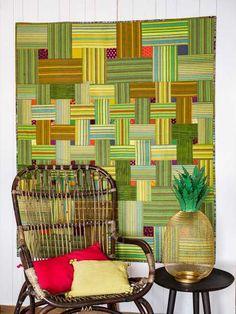 Pamela Goecke Dinndorf-Parallel Lines-modèle et patron quilt – Basket Case