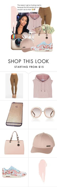 """Know Your Worth "" by baby-marii ❤ liked on Polyvore featuring adidas, Chloé, MICHAEL Michael Kors, Billabong, NIKE and NARS Cosmetics"