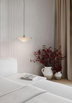 Interior Ceiling Design, Interior Design London, Open Plan Kitchen Dining Living, Wood Slat Wall, Small Apartment Interior, Interior Design Photography, Home Room Design, New Home Designs, Photoshop