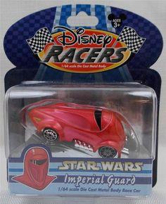 Disney Theme Park Racers Star Wars Imperial Guard 1/64 Scale Die Cast Car New