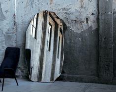 Kooh-i-noor Mirror by Piero Lissoni