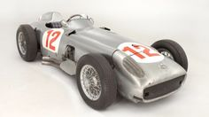 Fangio's 1954 Mercedes-Benz Silver Arrow becomes world's most expensive car
