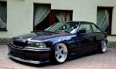 BMW E36 3 series black slammed deep dish Bmw E36 Drift, Ac Schnitzer, Bmw Love, Bmw E30, Nice Cars, Deep Dish, Bmw Cars, Cars And Motorcycles, Compact