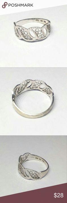 925 sterling silver filigree ring size 6 925 sterling silver filigree ring size 6 Jewelry Rings