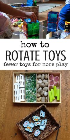 Best Toys 4 Toddlers - Wondering how to set up toy rotation system in your child's playroom? Step-by-step guide for effective playroom with rotating toys for you! toys How to Organise Toys and Start Toy Rotation System Montessori Playroom, Toddler Playroom, Montessori Toddler, Toddler Fun, Toddler Toys, Baby Toys, Kids Toys, Children's Toys, Waldorf Playroom