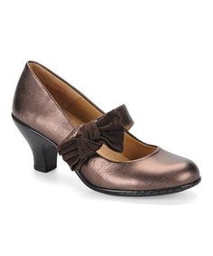 Loving this Copper & Chocolate Sophia Mary Jane on #zulily! #zulilyfinds