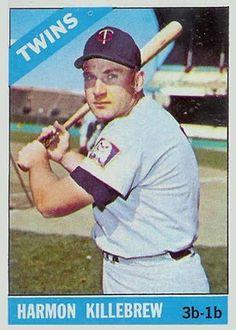 harmon killebrew baseball card | 1966 Topps Harmon Killebrew #120 Baseball Card Value Price Guide