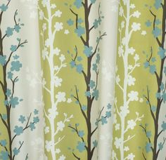 Blomma Wasabi - love this fabric