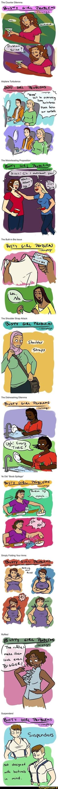 Busty Girl Problems--Funnyism Picture