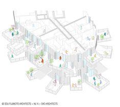 """el arquitecto japonés Sou Fujimoto ha sido escogido para construir la segunda edición de """"Architecture Folie"""" del siglo XXI en Montpellier, Francia."""