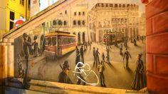 Luuh Alves: Arte Urbana em Lisboa