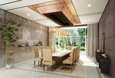 Dining Luxury, photorealistic rendering