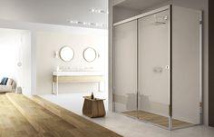 Un nuovo capitolo della storia @boxdocceduebi  che rende il #boxdoccia ancora più funzionale, #La8. Dove ogni movimento risulta semplice, essenziale, perfetto. www.gasparinionline.it -  #interiors #design #home #shower #style #arredamento #arredobagno