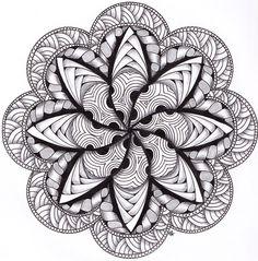 Musings: More Mandala Enjoyment!