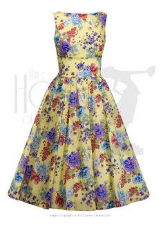 Sunny Days - 50s Cotton Day Dress