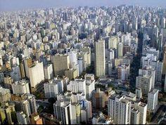 San Pablo, Brasil, 5° puesto de las ciudades más pobladas con 20,200,000 habitantes