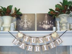 Hey, I found this really awesome Etsy listing at https://www.etsy.com/listing/204761359/just-married-bannerjust-married-signjust