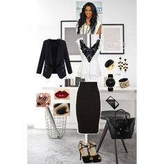 A fashion look from August 2015 featuring BCBGMAXAZRIA skirts, Red Circle shoes e Larsson & Jennings watches. Browse and shop related looks.