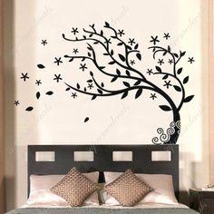 Custom PopDecals - Bedroom decor must have - Elegant tree - Beautiful Tree Wall Decals for Kids Rooms Teen Girls Boys Wallpaper Murals Sticker Wall Stickers Nursery Decor Nursery Decals PopDecals http://www.amazon.com/dp/B00584HV3C/ref=cm_sw_r_pi_dp_iIkQtb01547HR640