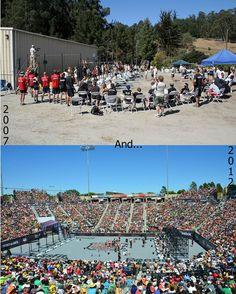 CrossFit games: 2007 vs. 2012. WOW.
