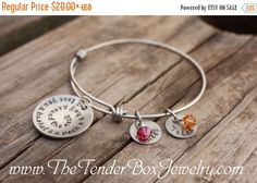 Personalized I love you a bushel and a peck and a hug around the neck bangle bracelet by TheTenderBox on Etsy https://www.etsy.com/listing/237402863/personalized-i-love-you-a-bushel-and-a