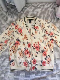 casaco florido forever21 - casaquinhos forever 21
