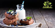 Jednoduché domáce waffle bez lepku, bez vajec a bez laktózy