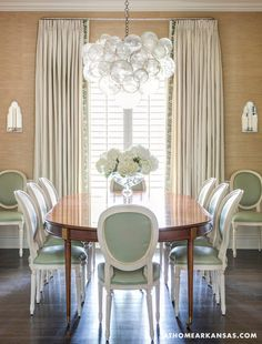 House of Turquoise: Melissa Haynes | dining room