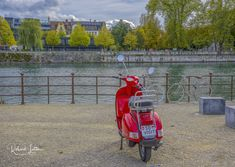 Red Vespa, Motorcycle, Vehicles, Solothurn, Crosses, Rolling Stock, Motorcycles, Vehicle, Motorbikes