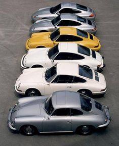 Design evolution Porsche