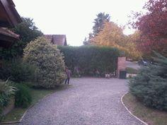 Casa de amigos na argentina e a beleza dos jardins!