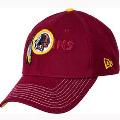 This Hidden Name hat by New Era is a perfect way to show off your Redskins pride! This hat with bold team colors features a raised embroidered team logo, along with a embroidered Redskins team wordmark to leave no one mistaking who you root for! The Redskins wordmark on the back of the flex fit hat is stitched.