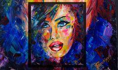 """Blue Eyes"" original OIL painting - Bachiyski Art ::: by Petya Nikolova Oil Painting On Canvas, Canvas Size, Blue Eyes, The Originals, Art, Art Background, Kunst, Performing Arts"