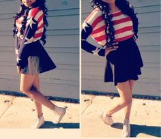Cute outfit for 4th of July